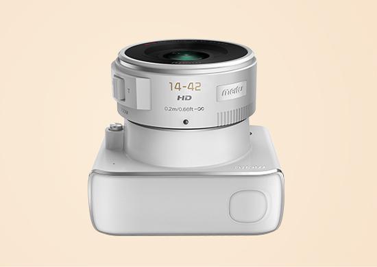 可换镜头的相机